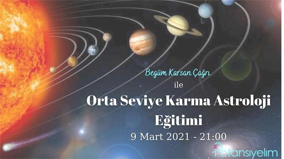 Orta Seviye Karma Astroloji Eğitimi