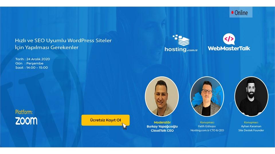 Hızlı ve SEO Uyumlu WordPress Siteler İçin Yapılması Gerekenler