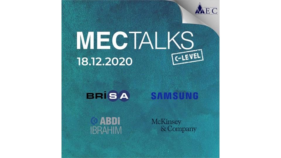 MECTalks C-Level 20' 18 Aralık 2020
