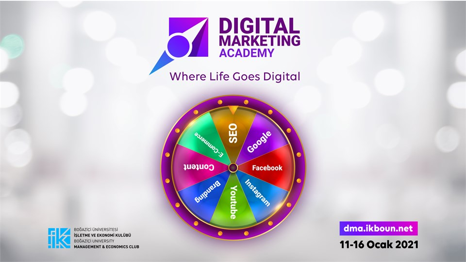 Boğaziçi Üniversitesi Digital Marketing Academy