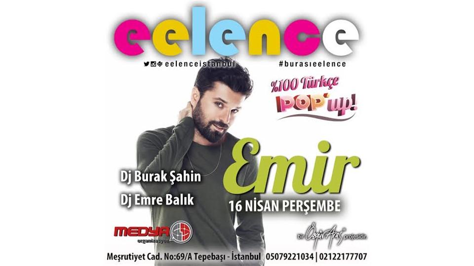 EMİR İLE POP'UP ! | Eelence İstanbul