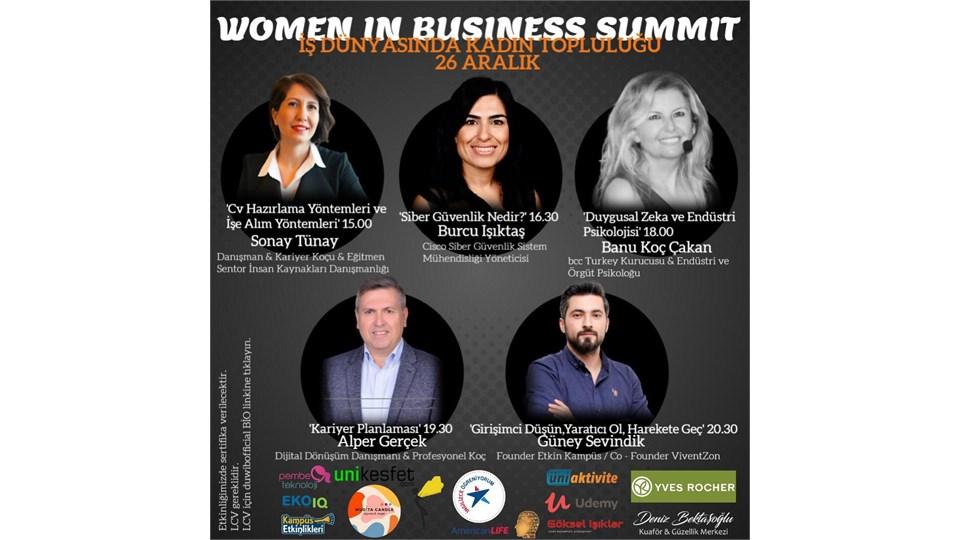 Women in Business Summit'