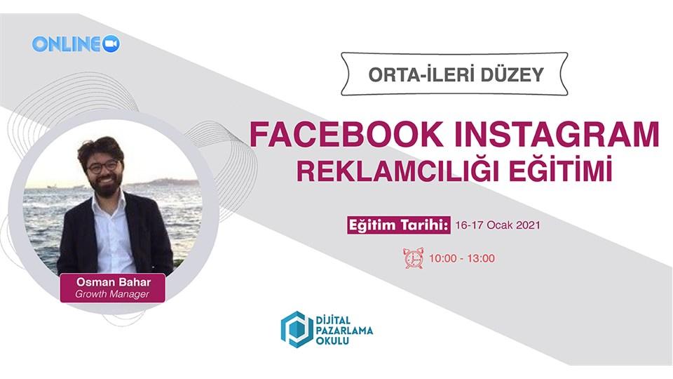 İleri Düzey Facebook & Instagram Reklamcılığı Eğitimi