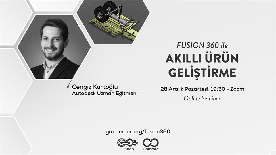 Fusion 360 ile Akıllı Ürün Geliştirme