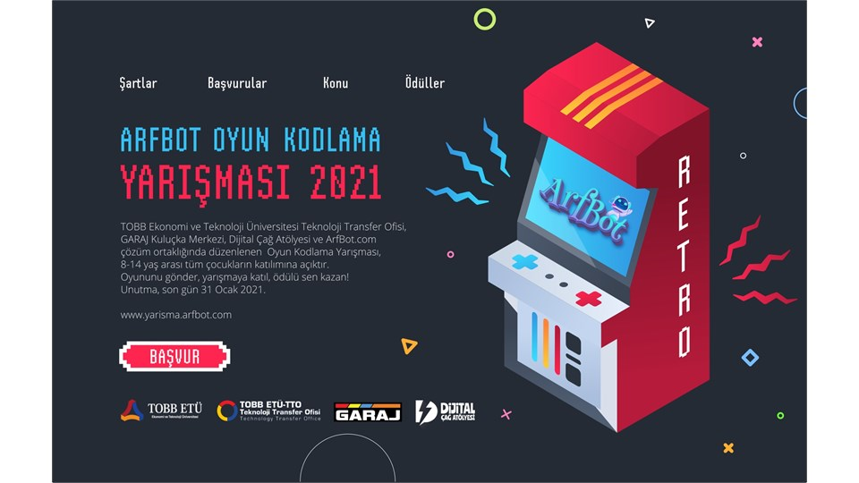 ArfBot | Oyun Kodlama Yarışması 2021
