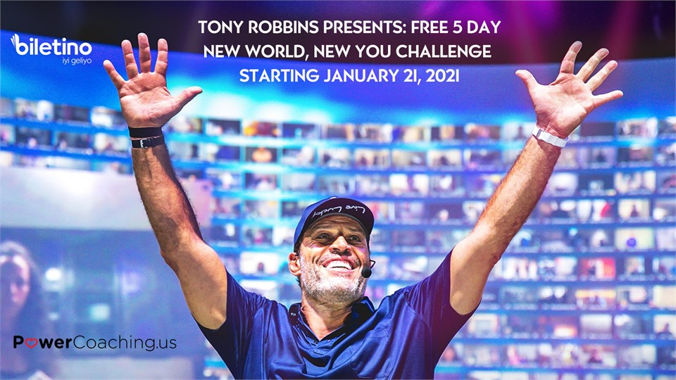 Tony Robbins - New World New You Challange