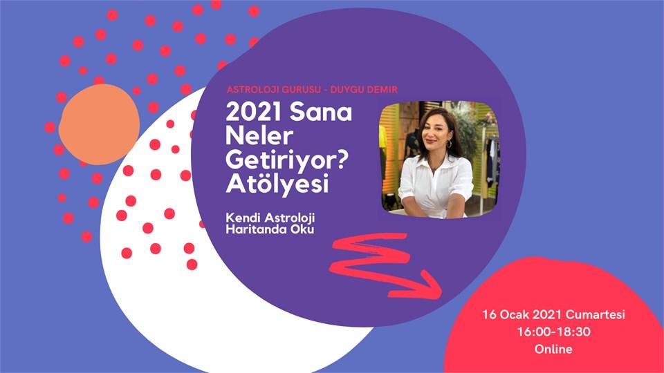 2021 Sana Neler Getiriyor? Kendi Astroloji Haritanda Oku - ONLİNE