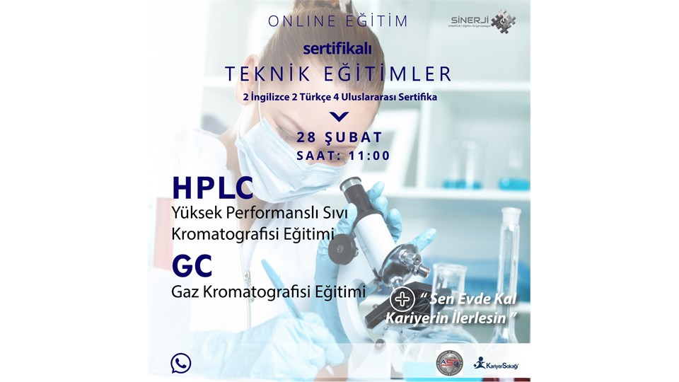 HPLC & GC EĞİTİM ZİRVESİ (28.02.2021)