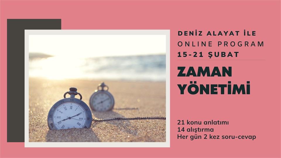 Online Program: Zaman Yönetimi