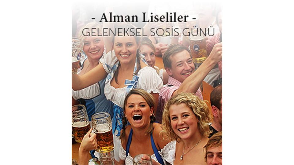 Alman Liseliler Derneği Sosis Günü 2015