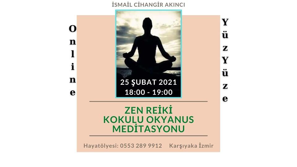 Zen Reiki Kokulu Okyanus Meditasyonu