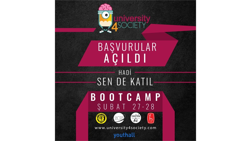 University4Society Çankaya Üniversitesi ve Hacettepe Üniversitesi