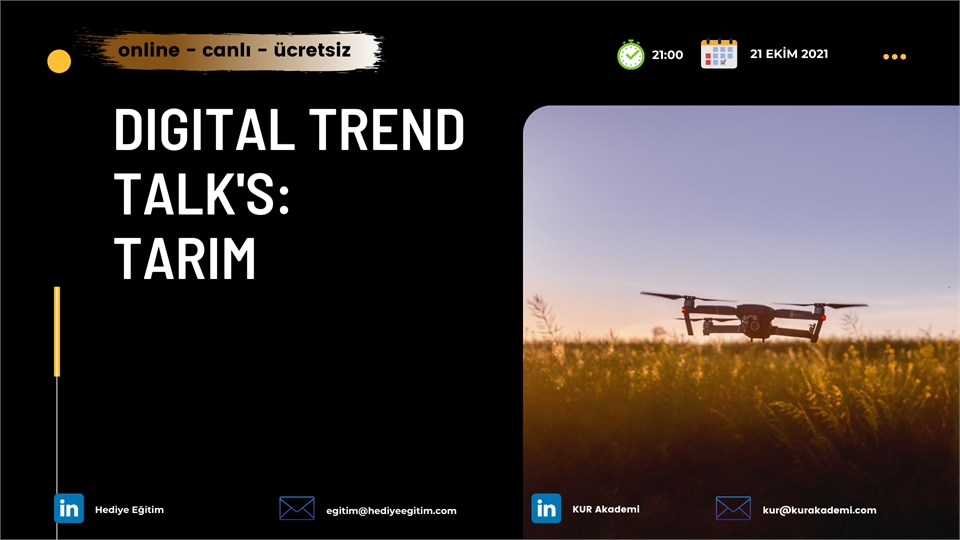 Digital Trend Talk's:  TARIM