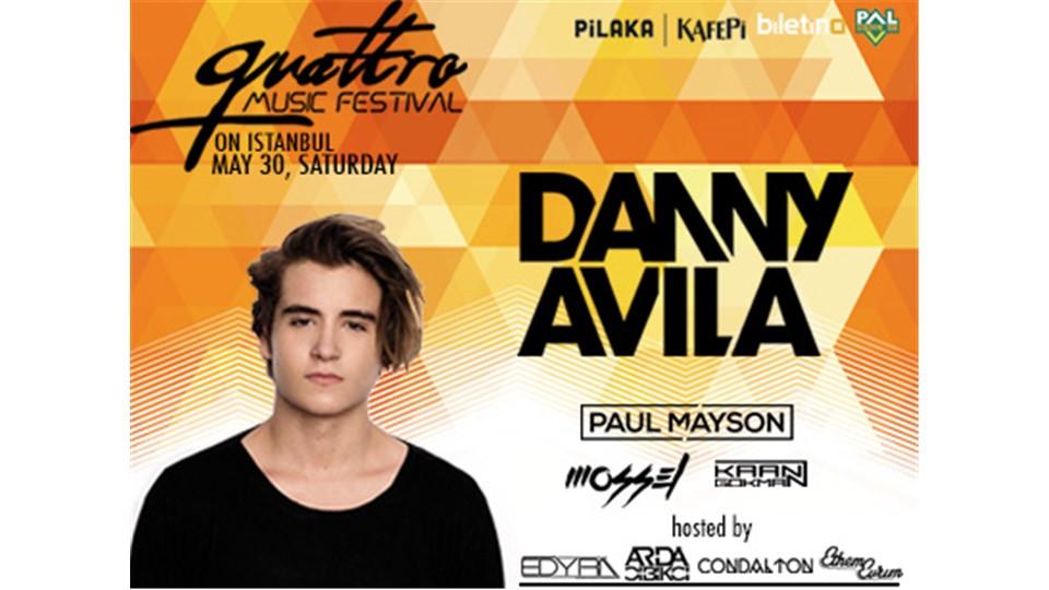 QUATTRO MUSIC FESTIVAL w/ DANNY AVILA & PAUL MAYSON