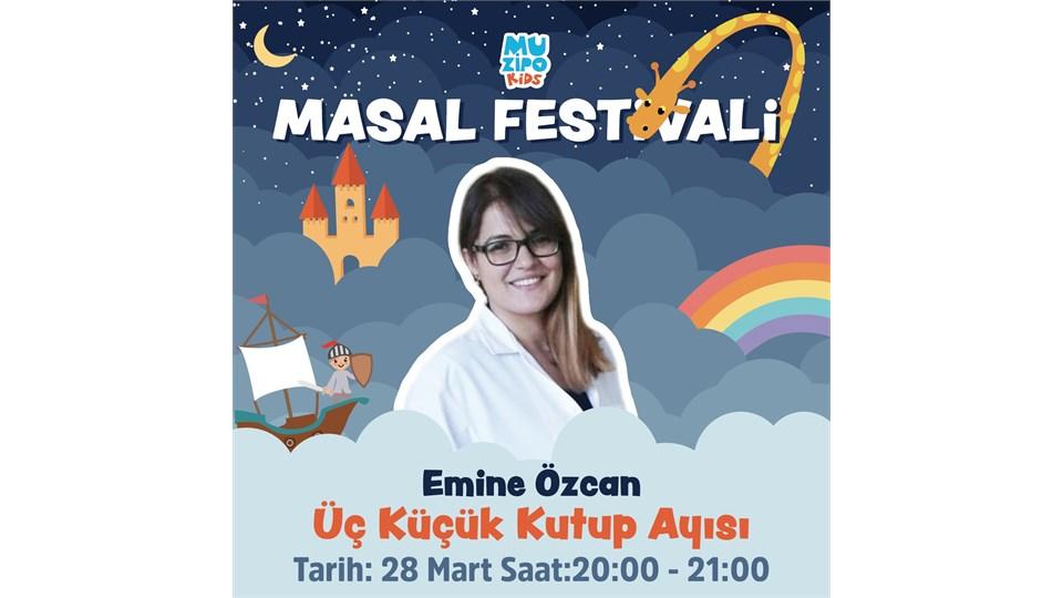 Muzipo Kids | Emine Özcan ile Üç Küçük Kutup Ayısı Masal Saati | ONLINE