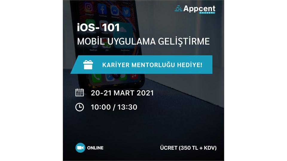 iOS 101 Mobil Uygulama Geliştirme