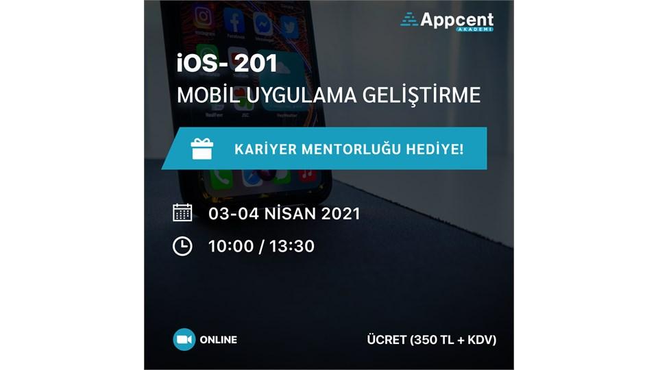 iOS 201-Mobil Uygulama Geliştirme