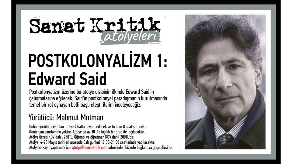 Sanat Kritik-Postkolonyalizm 1-Edward Said