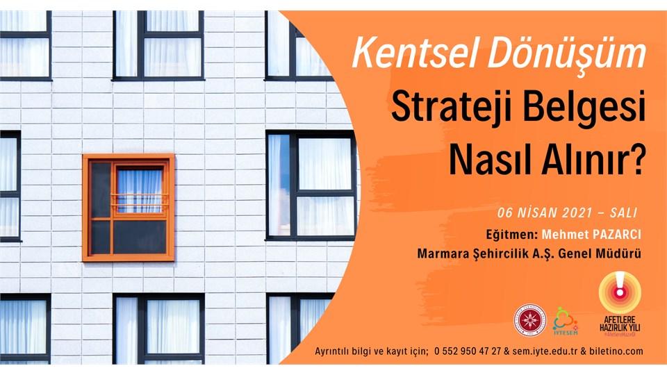 Kentsel Dönüşüm Strateji Belgesi