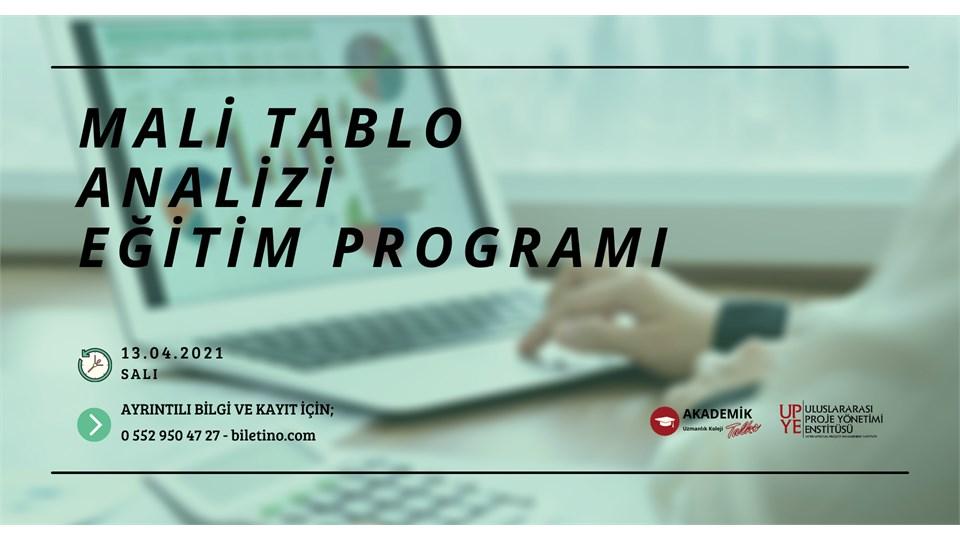 Mali Tablo Analizi Eğitim Programı