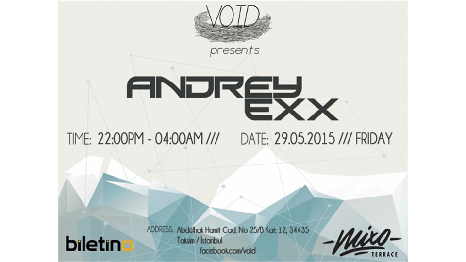 Andrey Exx @Void Rooftop Party (Mixo Terrace)
