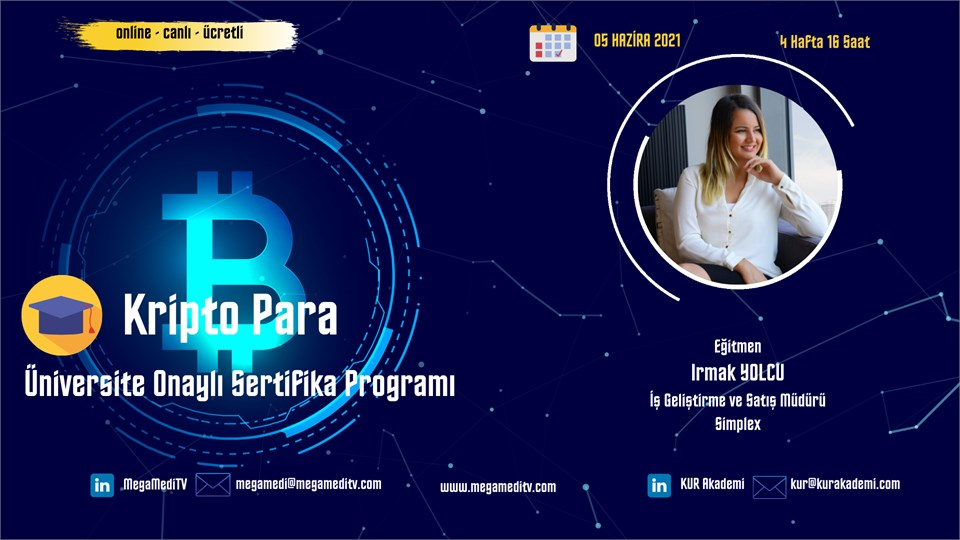 Kripto Para  Sertifika Programı Eğitimi (Ücretli)
