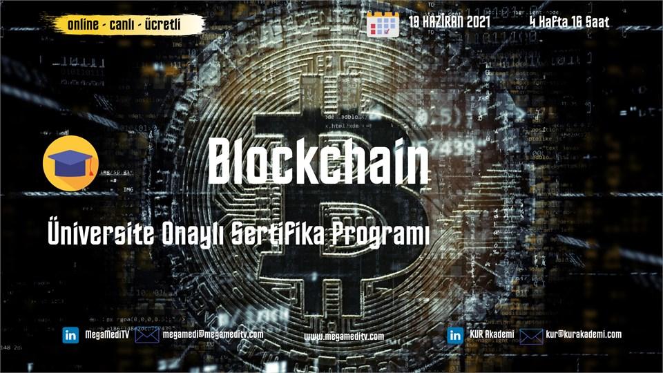 Blockchain Üniversite Onaylı Sertifika Eğitimi (Ücretli)
