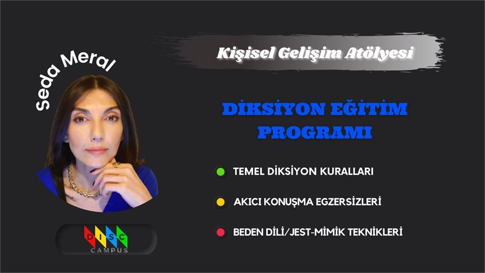 Hitabet Sanatı ''DİKSİYON ve GÜZEL KONUŞMA'' Eğitim Programı