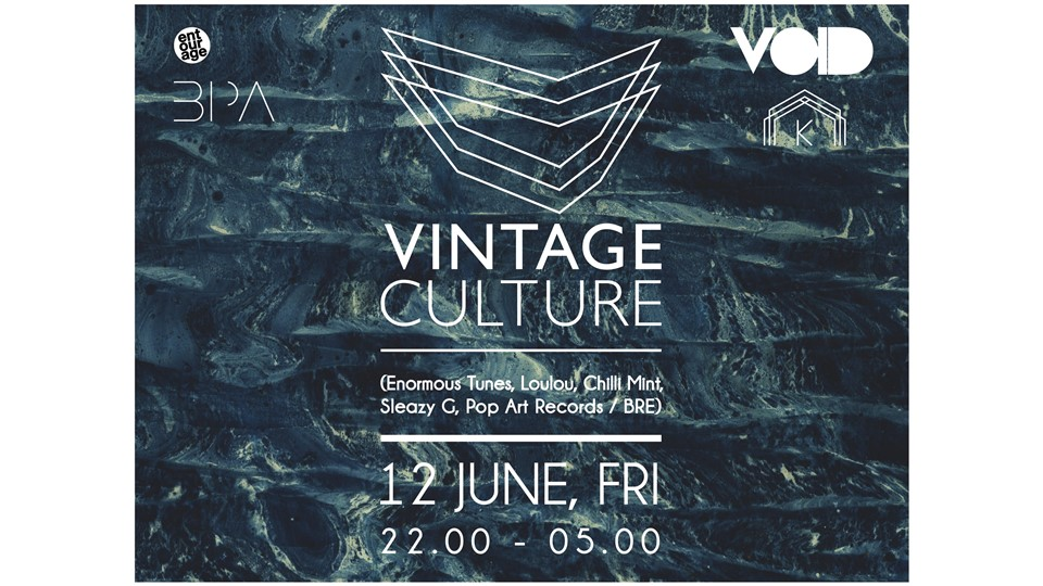 Void Presents Vintage Culture @Kloster