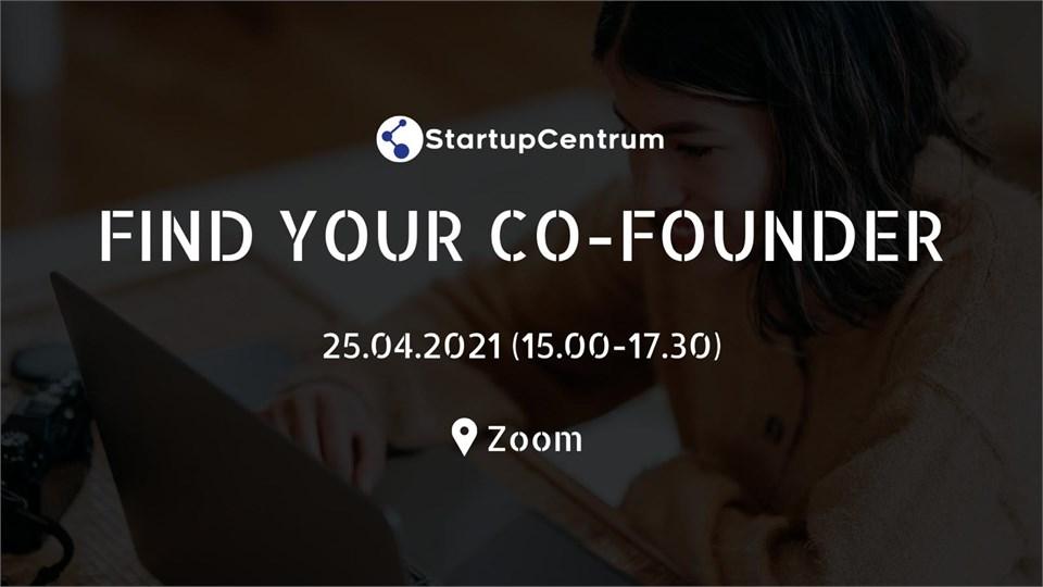 Find Your Co-Founder - StartupCentrum