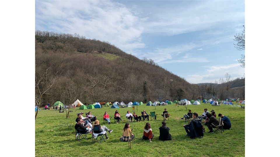 Troltunga Camping Gebze Çadır Konaklama