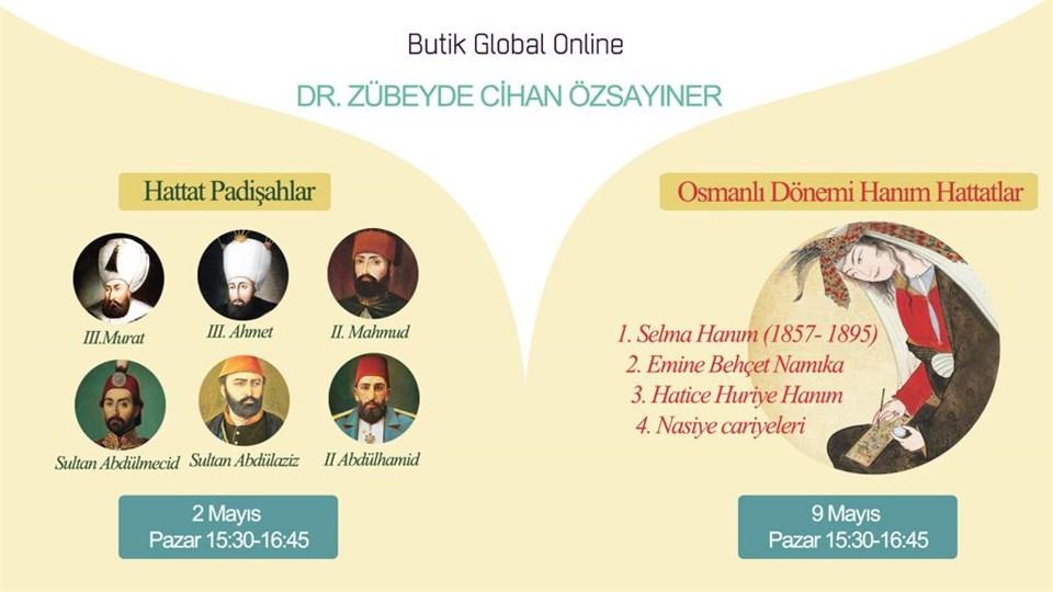 Dr. Zübeyde Cihan Özsayıner ile Hattat Padişahlar ve Osmanlı Dönemi Hanım Hattatlar Semineri