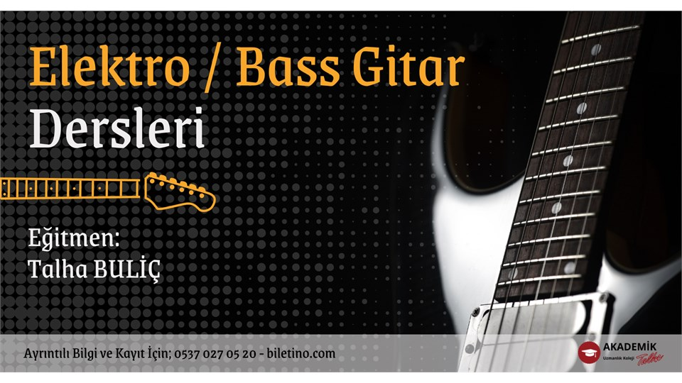 Elektro ve Bass Gitar Eğitim Programı