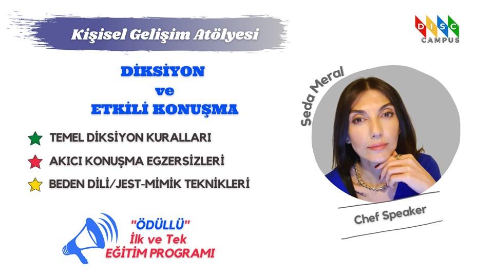 ''Diksiyon ve Etkili Konuşma'' Eğitim Programı (ÜCRETSİZ)