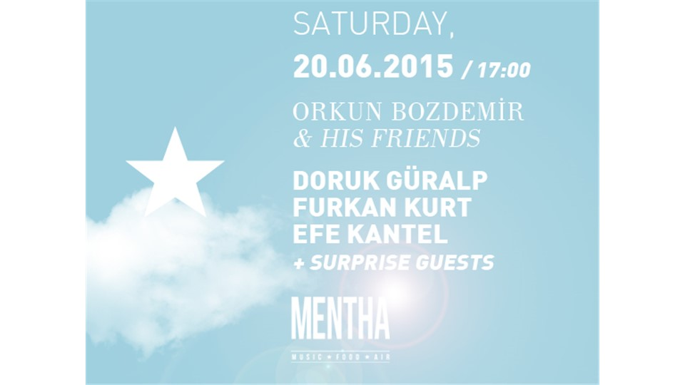 Orkun Bozdemir & His Friends: Doruk Güralp ★ Furkan Kurt ★ Efe Kantel