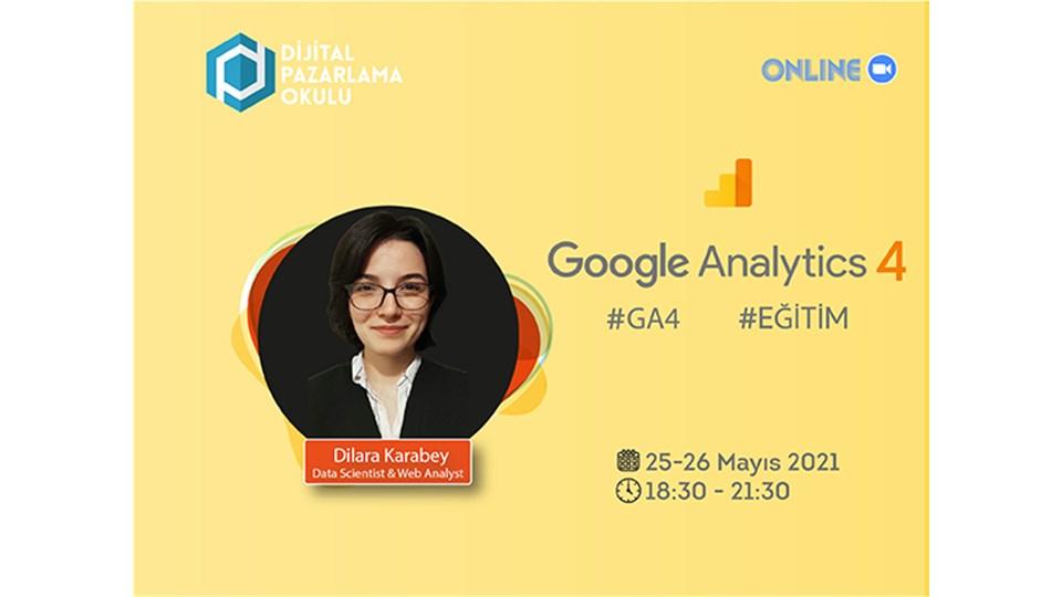 Online Google Analytics 4 Eğitimi