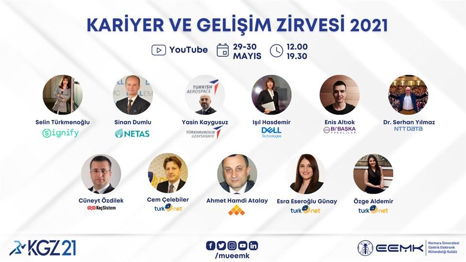 KGZ21 - Kariyer ve Gelişim Zirvesi 2021