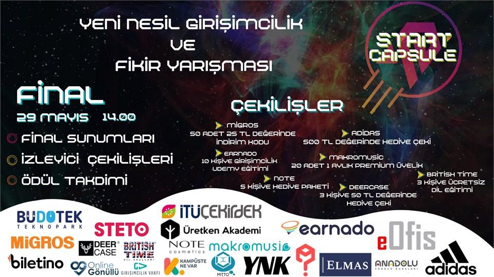 START CAPSULE FİNAL GÜNÜ