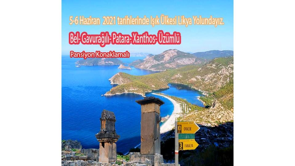 Likya Yolu (Bel-Gavurağılı-Patara-Xanthos-Üzümlü)