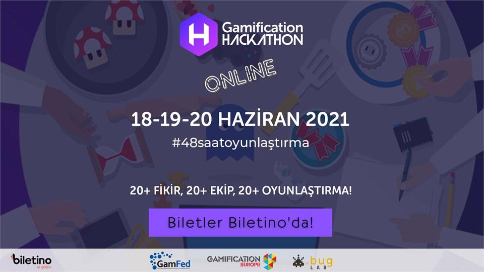 3.Gamification Hackathon ONLINE - 48 Saat Oyunlaştırma Maratonu