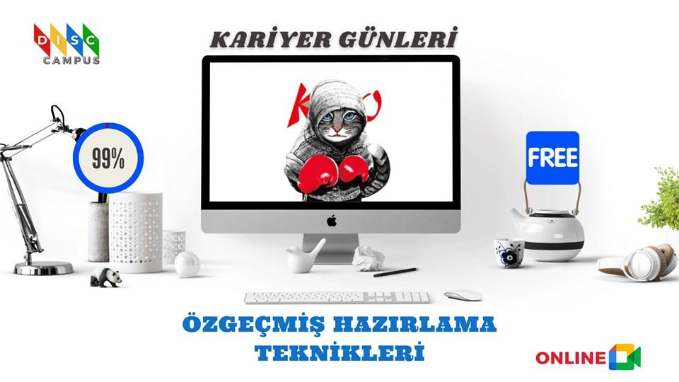 Kariyer Günleri ''ÖZGEÇMİŞ HAZIRLAMA TEKNİKLERİ'' Ücretsiz