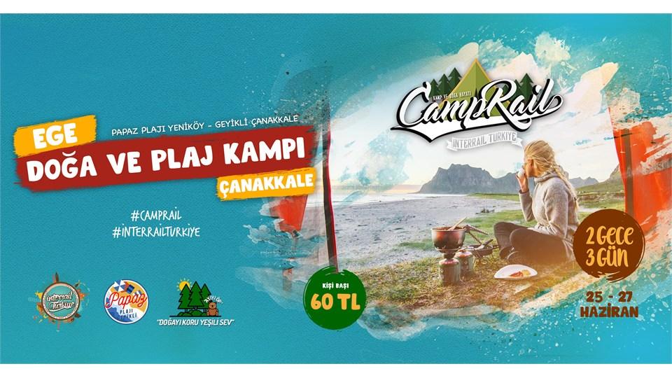 Ege Doğa ve Plaj Kampı | Çanakkale | Camprail