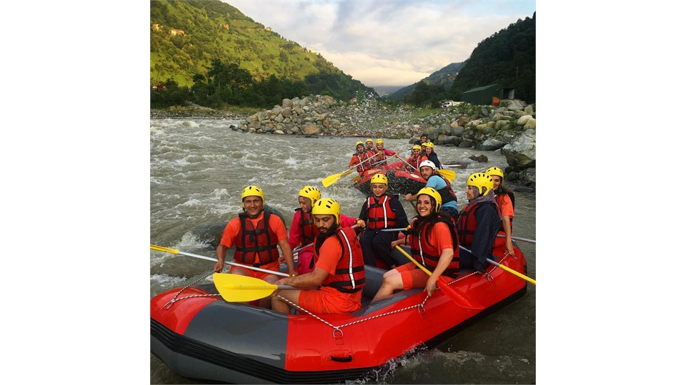 Rize'de Rafting
