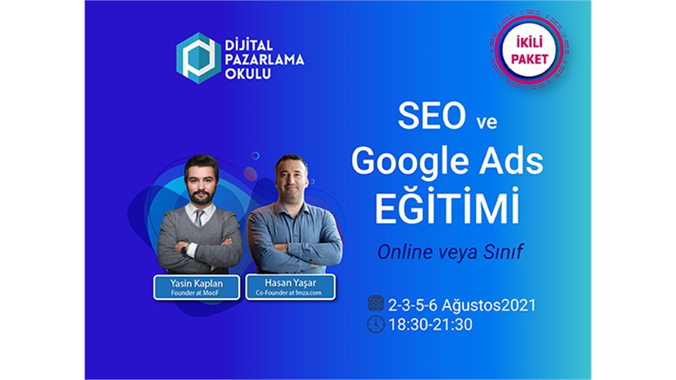 Google Ads & SEO Eğitimi (İKİLİ PAKET FIRSATI)