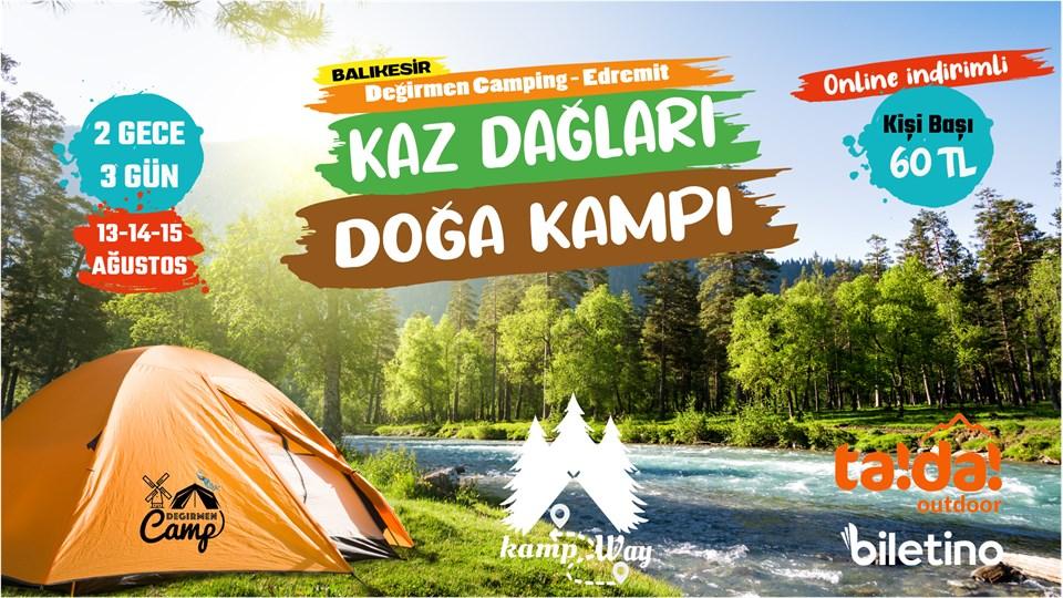 Kaz Dağları - Doğa Kampı | KampWay