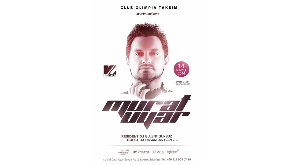 DJ Murat Uyar ile Müzik Dolu Bir Gece