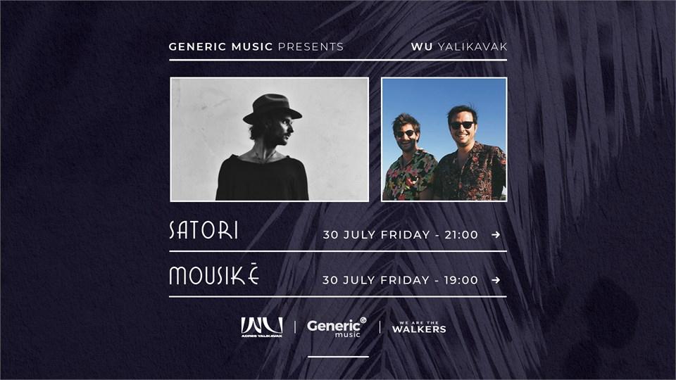 Generic Music presents: Satori Live / WU Yalıkavak