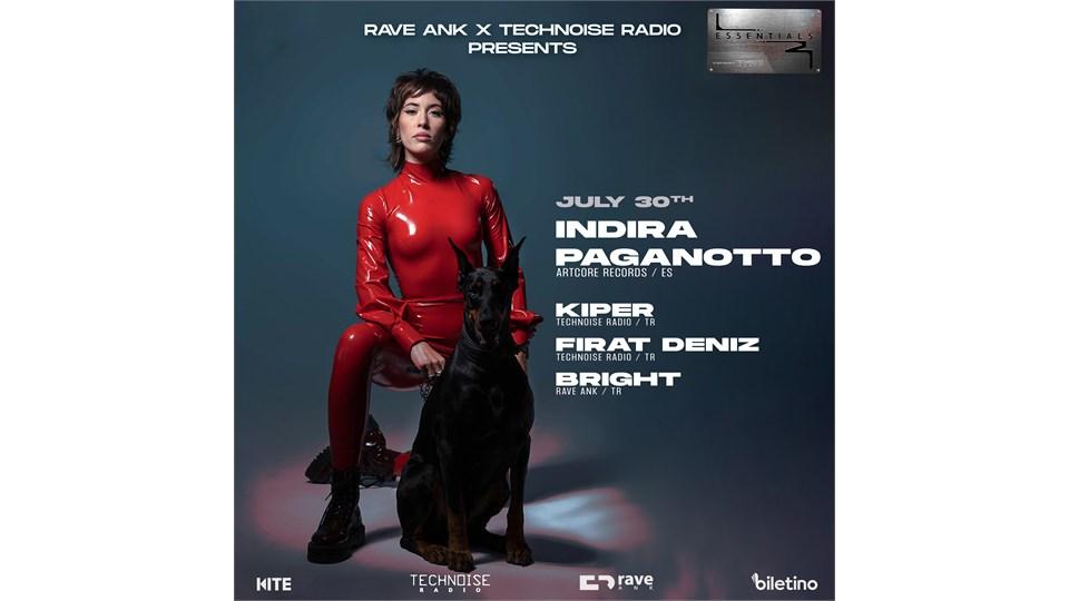 RAVE ANK X TECHNOISE RADIO: INDIRA PAGANOTTO