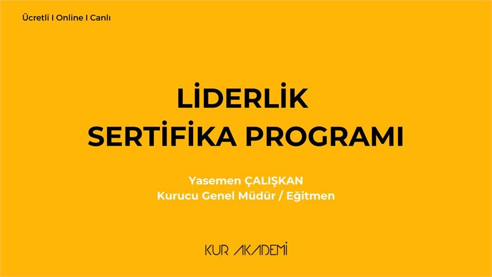 Liderlik Sertifika Programı