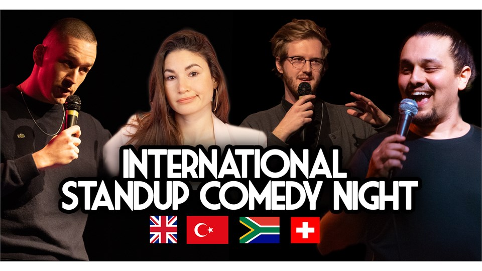 International Standup Comedy Night Antalya